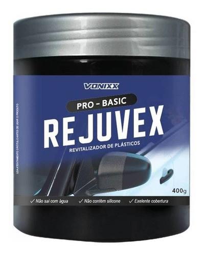 Rejuvex Revitalizador De Plásticos Externos 400g Vonixx