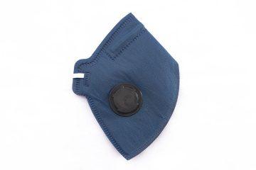 Respirador Descartável Azul PFF2 Com Valvula - Camper