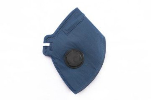 Respirador Descartável PFF1 Azul Com Válvula - Camper