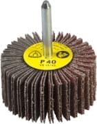 Roda PG Minikontur Com Haste 6mm KM613 50x25 Grão 120