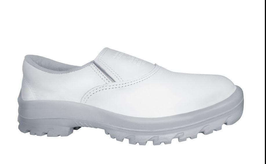 Sapato Elástico Sem Bico Branco N37 - Cartom