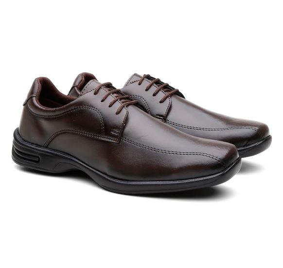Sapato Social Marrom 557C9 N°37 - Mariano