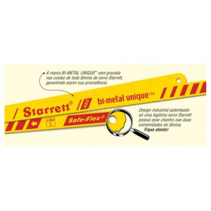 Serra Manual Flexível Bi-Metal 12x1/2 BS1232 - Starrett