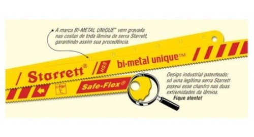 Serra Manual Flexível Bi-metal 12x1/2 Bs1232 - Starrett