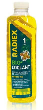 Solução Arrefecimento Pronto Uso Bio Collant Amarelo R-1892 PS2G 1 Litro - Radiex