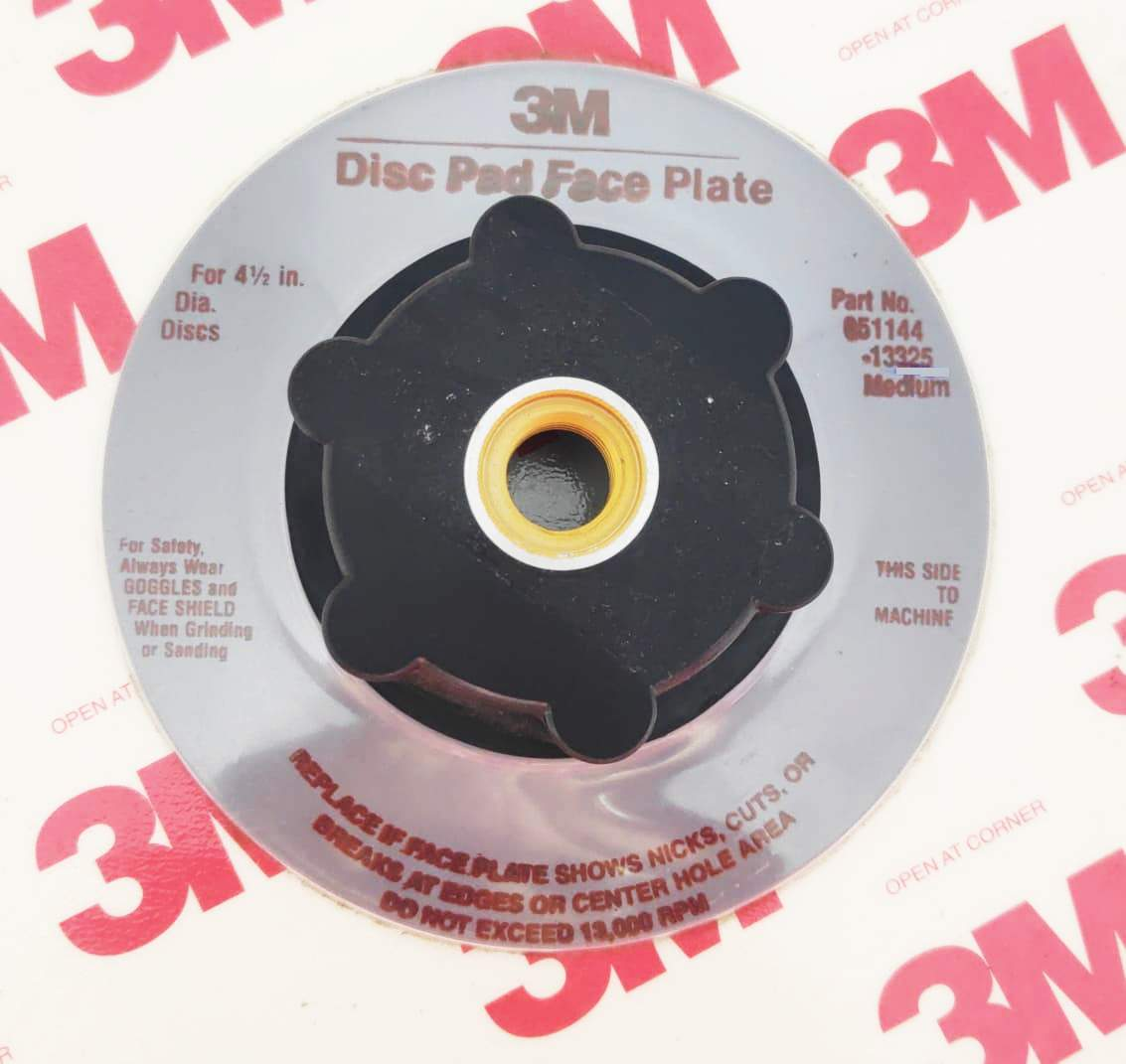 "Suporte Disco de Fibra PN14270(Prato) 4,5"" - 3M"