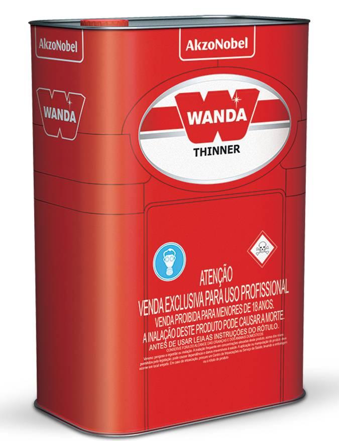 Thinner PU4030 18 Litros - Wanda