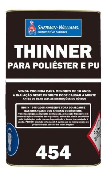 Thinner PU 0454 18 Litros - Lazzuril