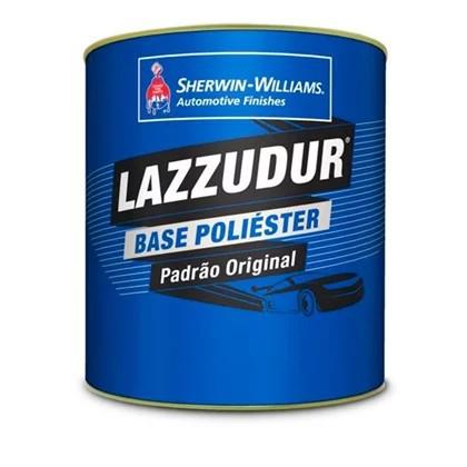 Tinta Poliester 900ml Azul Astral Perolizado - Lazzuril