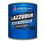 Tinta Poliester 900ml Silver Metálico  - Lazzuril