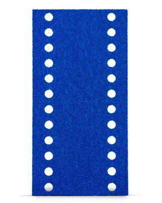 Tira Hookit Blue 321U 115x225mm Grão 220