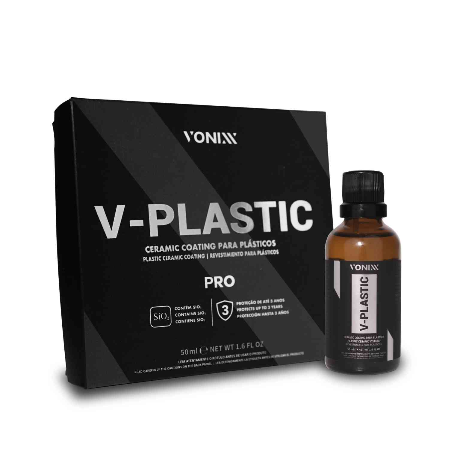 V-Plastic Vitrificador De Plásticos 20ml - Vonixx