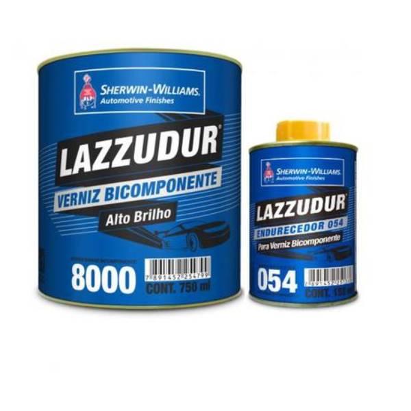 Verniz 8000 Lazzuril Bicomponente 750ml Com Catalisador - Sherwin Williams