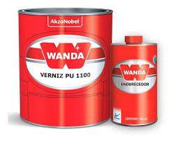 Verniz PU1100 Bi-Componente Com Catalisador 750ml - Wanda