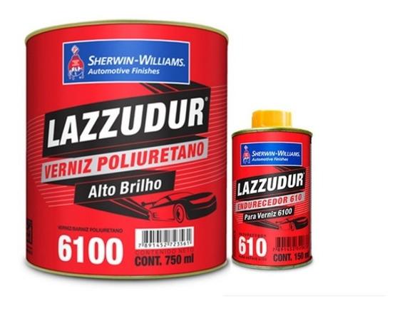 Verniz PU 6100 Lazzuril Bi-Componente Com Catalisador 900ml - Sherwin Williams