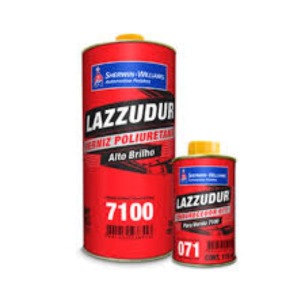 Verniz PU 7100 Lazzuril Bi-Componente Com Catalisador 785ml - Sherwin Williams