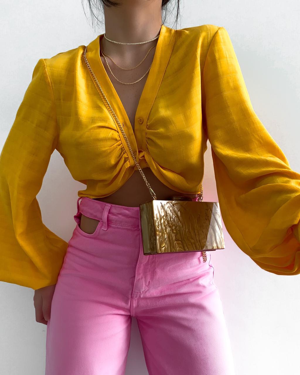 Cropped Camisa Mali