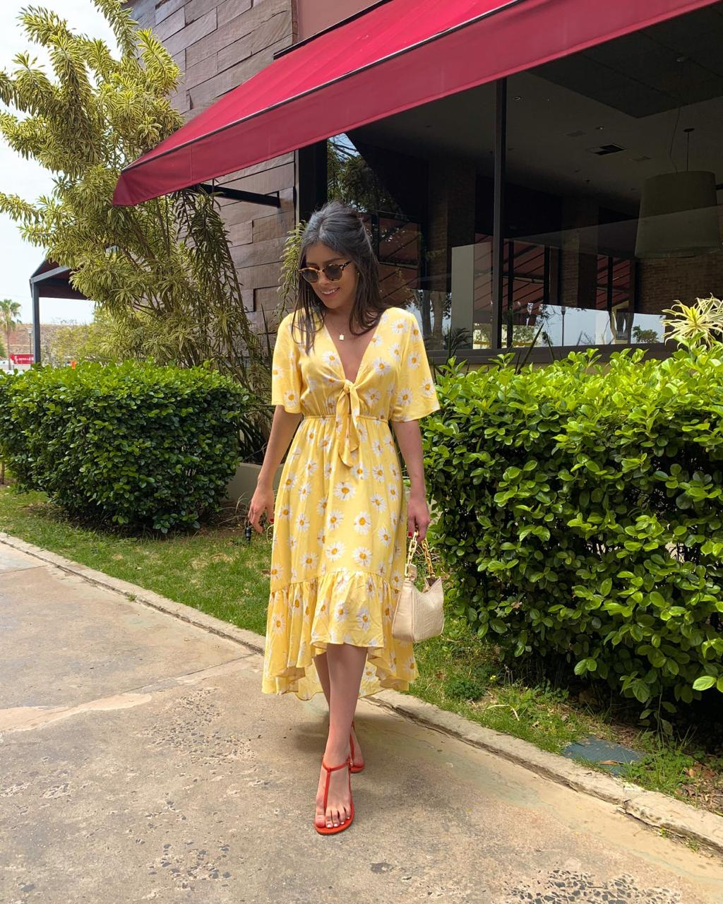 Vestido Midi Sunshine