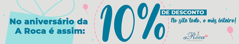 Promoção Aniversario 10%