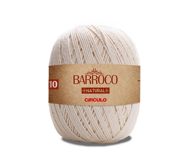 Barbante Barroco Natural Nº10 700g