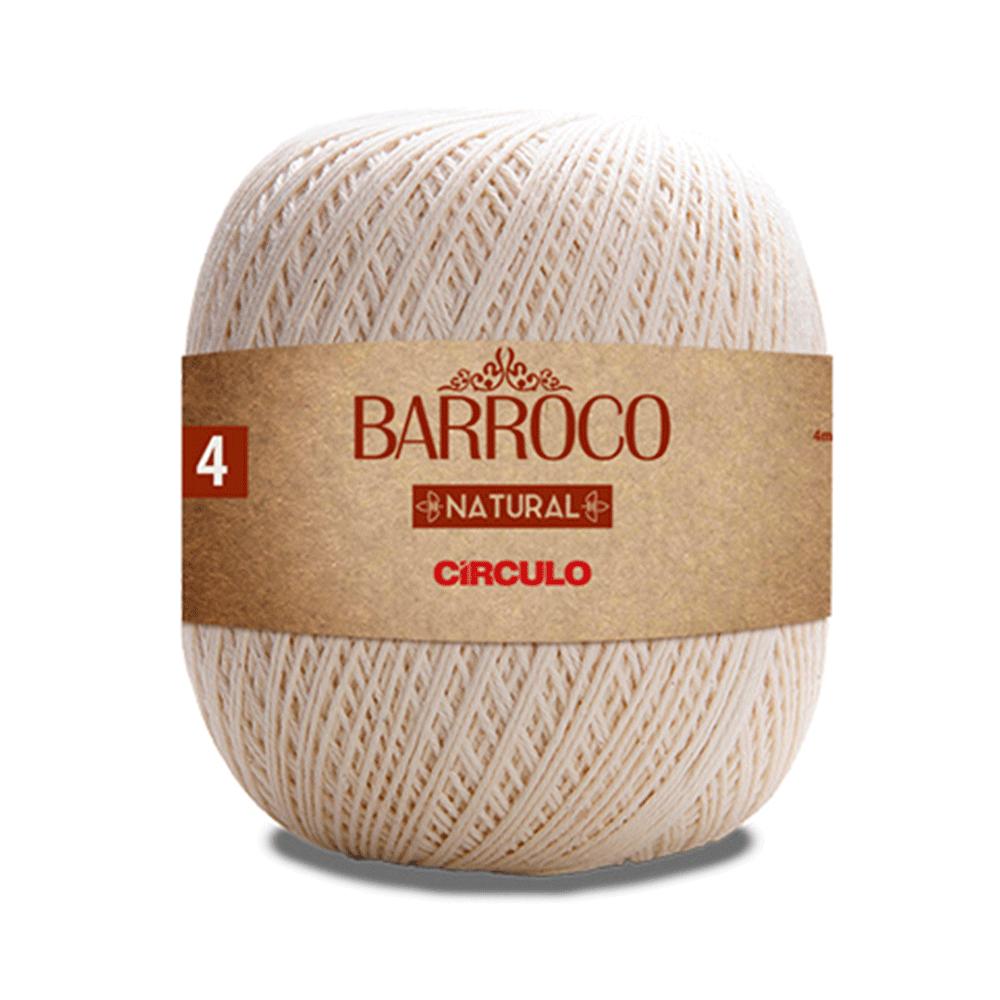 Barbante Barroco Natural nº4 - 4/4 700g