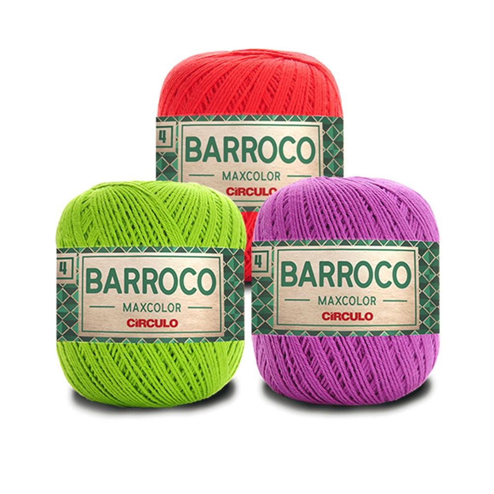 Barbante Barroco MaxColor Nº 4 - 200g