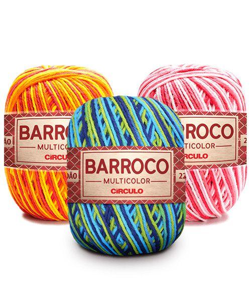 Barbante Barroco Multicolor 200g
