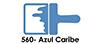 Acri-560 Azul Caribe