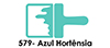 Acri-579 Azul Hortênsia