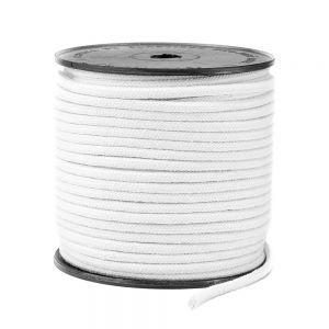Cordão Branco 3mm - 50MT