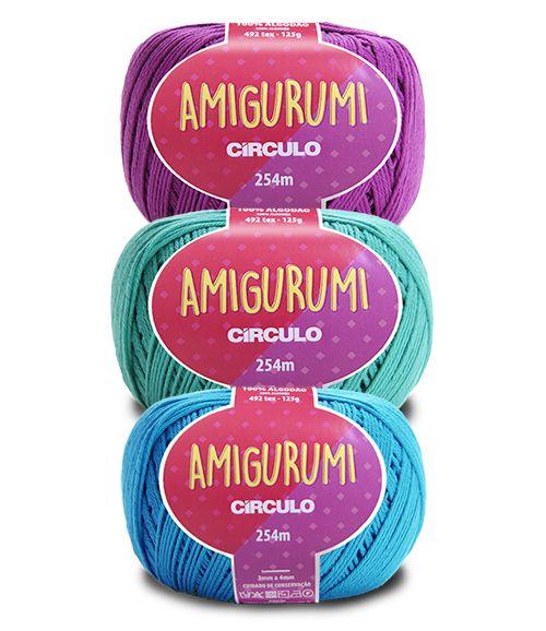 Fio Amigurumi Círculo 125g - 254m