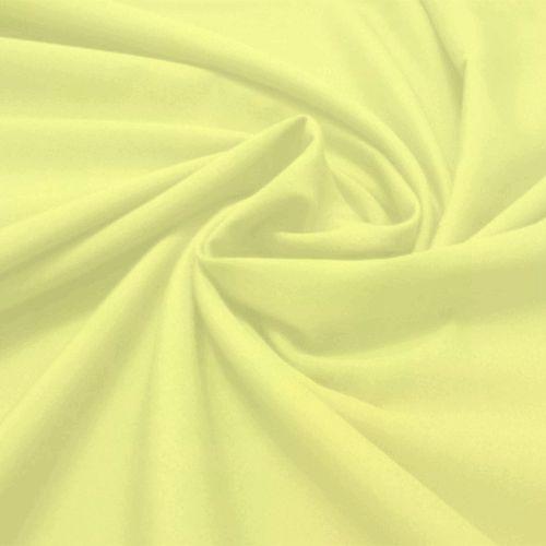 Tecido Tricoline Lisa Amarelo Bebê  50 cm x 150 cm