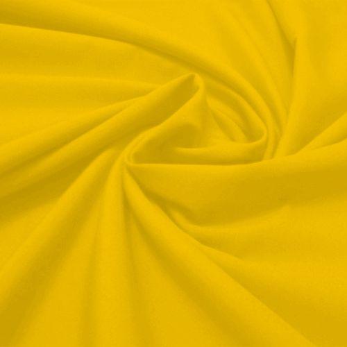 Tecido Tricoline Lisa Amarelo Ouro 50 cm x 150 cm