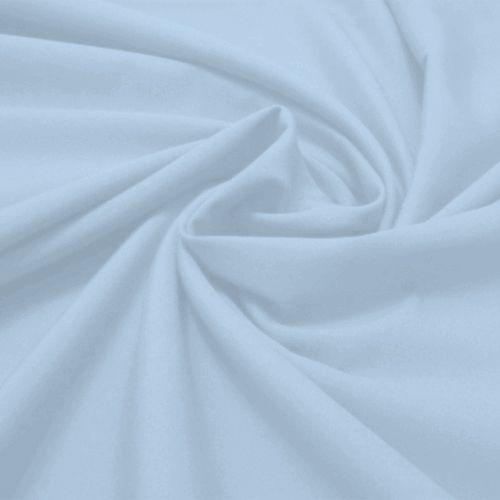 Tecido Tricoline Lisa Azul Bebê 50 cm x 150 cm