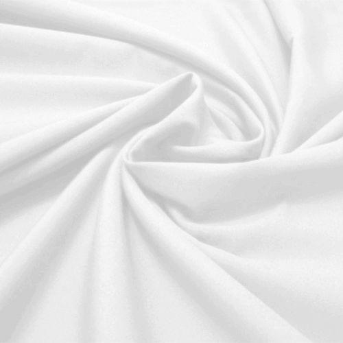 Tecido Tricoline Lisa Branca  50 cm x 150 cm