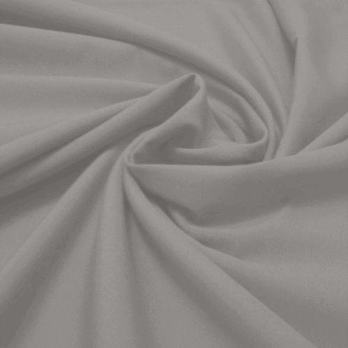Tecido Tricoline Lisa Cinza Médio 50 cm x 150 cm
