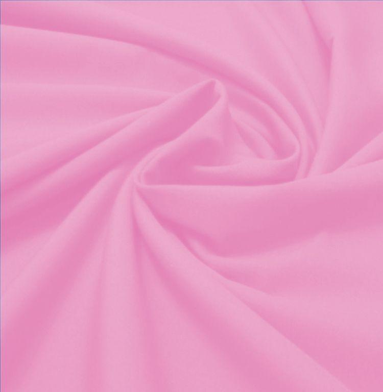 Tecido Tricoline Lisa Rosa Boneca  50 cm x 150 cm
