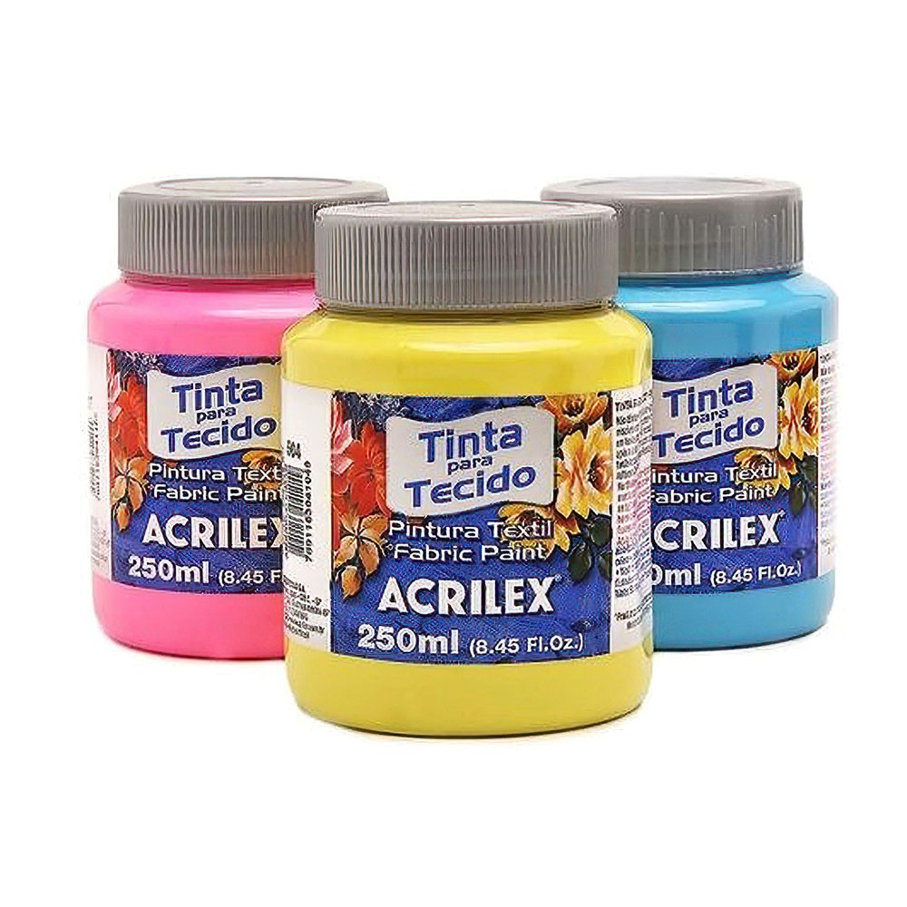 Tinta Acrilex Para Tecido Fosca  250 ml