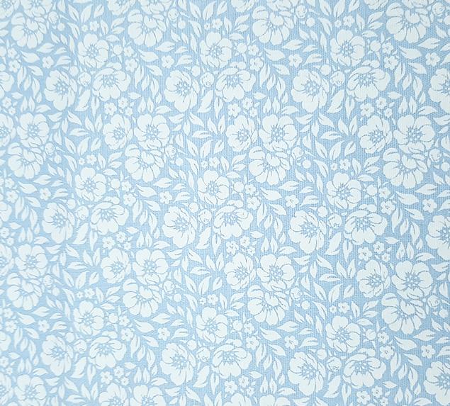 Tecido Tricoline Magnólia Azul Tiffany