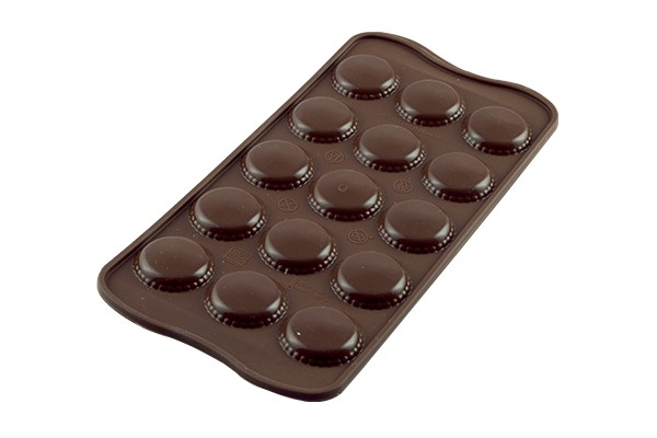 FORMA PARA CHOCOLATE MACARRONS  (21X11X2CM)  PRN   22.121.77.0065