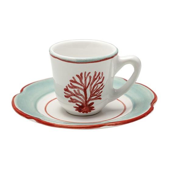 XICARA DE CAFE AZUL MEDITERRANEO   120904700261