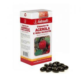 Acerola e Rosa Silvestre Naturalis 80 Cápsulas
