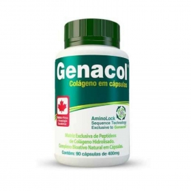 Genacol Colágeno Hidrolisado em Cápsulas 400mg - 90 Cápsulas