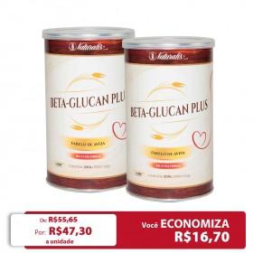 Kit 02 latas de Farelo de Aveia Beta-Glucan Plus Naturalis 200g
