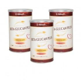 Kit 03 latas de Farelo de Aveia Beta-Glucan Plus Naturalis 200g