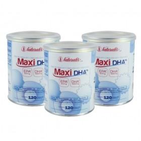 Kit 03 Omega-3 Maxi DHA Naturalis 120 Cápsulas cada