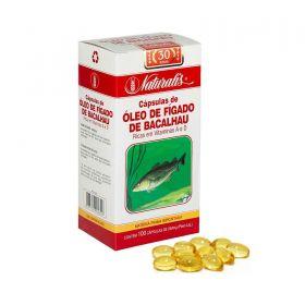 Óleo de Fígado de Bacalhau Naturalis 100 Cápsulas