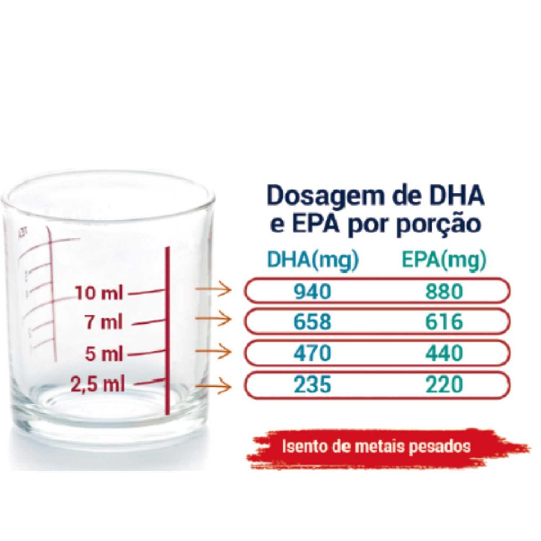 Ômega-3 Líquido Naturalis
