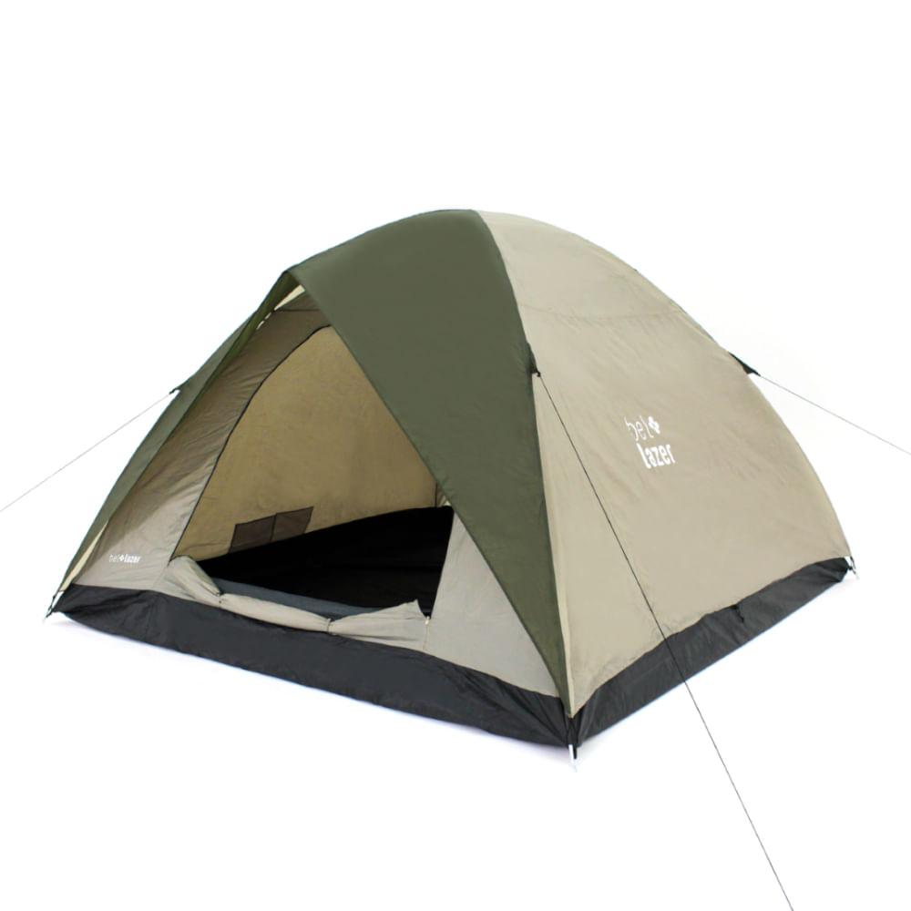 Barraca Camping Araguaia Alta Premium com Cobertura Para 6 Pessoas - Bel Fix