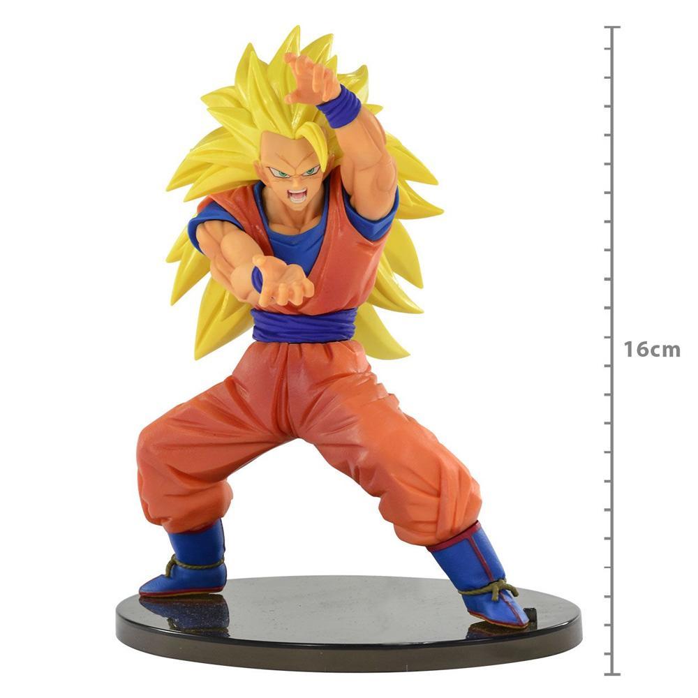 Boneco Action Figure Dragon Ball Super ChosenShiretsuden Super Saiyan 3 Son Goku - Banpresto